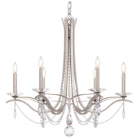 Schonbek VA8336N-59S Vesca 6 Light 33 inch Ferro Black Chandelier Ceiling Light in Clear Swarovski