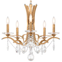Schonbek VA8355N-26H Vesca 5 Light French Gold Chandelier Ceiling Light in Vesca Heritage
