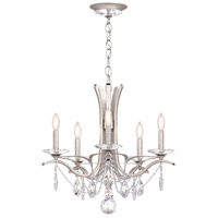 Schonbek VA8355N-48H Vesca 5 Light 23 inch Antique Silver Chandelier Ceiling Light in Vesca Heritage