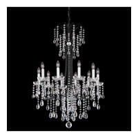 Schonbek Vesuvio 10 Light Chandelier in Ferro Black and Clear Heritage Handcut Trim VE0003N-59H photo thumbnail