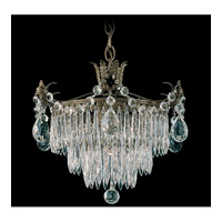Schonbek Windsor 1 Light Pendant in Etruscan Gold and Clear Legacy Collection Trim 1350-23 photo thumbnail