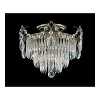 Schonbek Windsor 1 Light Semi Flush Mount in Etruscan Gold and Clear Legacy Collection Trim 1351-23 photo thumbnail