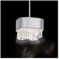 Schonbek Zeppa 2 Light Pendant in Stainless Steel and Spectra Crystal SQ8308N-401A1