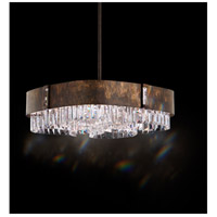 Schonbek SQ8419N-76A Zeppa with Metal Shades 6 Light 21 inch Heirloom Bronze Pendant Ceiling Light in Clear Spectra