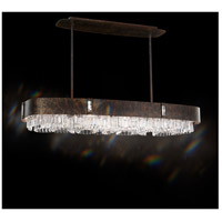 Zeppa 12 Light 20 inch Heirloom Bronze Pendant Ceiling Light in Swarovski