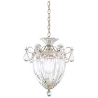 Schonbek 1241-48S Bagatelle 1 Light 8 inch Antique Silver Pendant Ceiling Light in Bagatelle Swarovski