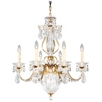 Schonbek 1246-22 Bagatelle 7 Light 21 inch Heirloom Gold Chandelier Ceiling Light in Bagatelle Heritage