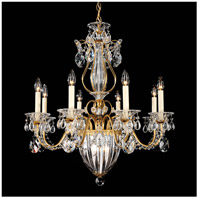 Schonbek 1248-22S Bagatelle 11 Light 27 inch Heirloom Gold Chandelier Ceiling Light in Bagatelle Swarovski