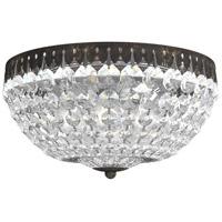 Schonbek 1562-76A Petit Crystal 5 Light 12 inch Heirloom Bronze Flush Mount Ceiling Light in Spectra