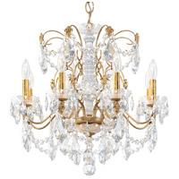 Schonbek 1707-26 Century 8 Light 24 inch French Gold Chandelier Ceiling Light