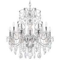Schonbek 1712-40 Century 12 Light 30 inch Silver Chandelier Ceiling Light in Polished Silver