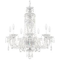 Schonbek 2995-40H Sterling 7 Light 25 inch Silver Chandelier Ceiling Light in Polished Silver, Sterling Heritage