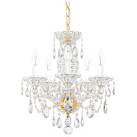 Schonbek 2999-211H Sterling 5 Light 16 inch Aurelia Chandelier Ceiling Light in Sterling Heritage