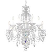 Schonbek 3601-40H Sterling 12 Light 29 inch Silver Chandelier Ceiling Light in Polished Silver, Sterling Heritage