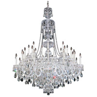 Schonbek 3612-40H Sterling 45 Light 60 inch Silver Chandelier Ceiling Light in Polished Silver, Sterling Heritage