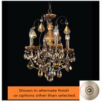 Schonbek 3648-48H New Orleans 4 Light 12 inch Antique Silver Chandelier Ceiling Light in New Orleans Heritage