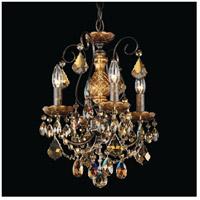 Schonbek 3648-76TK New Orleans 4 Light 12 inch Heirloom Bronze Chandelier Ceiling Light in New Orleans Golden Teak