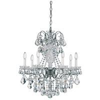 Schonbek 3656-49H New Orleans 7 Light 24 inch Black Pearl Chandelier Ceiling Light in New Orleans Heritage