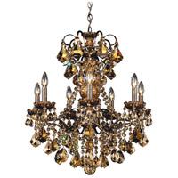 Schonbek 3656-76S New Orleans 7 Light 24 inch Heirloom Bronze Chandelier Ceiling Light in New Orleans Swarovski