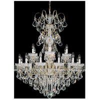 Schonbek 3660-22H New Orleans 18 Light 36 inch Heirloom Gold Chandelier Ceiling Light in New Orleans Heritage