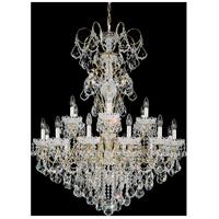 Schonbek 3660-22S New Orleans 18 Light 36 inch Heirloom Gold Chandelier Ceiling Light in New Orleans Swarovski