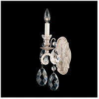 Schonbek 3756-48 Renaissance 1 Light 6 inch Antique Silver Wall Sconce Wall Light in Renaissance Heritage