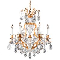 Schonbek 3770-26 Renaissance 7 Light 24 inch French Gold Chandelier Ceiling Light in Renaissance Heritage