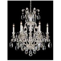 Schonbek 3770-48 Renaissance 7 Light 24 inch Antique Silver Chandelier Ceiling Light in Renaissance Heritage