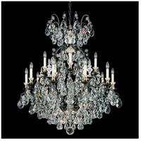Schonbek 3773-51 Renaissance 16 Light 38 inch Black Chandelier Ceiling Light in Renaissance Heritage