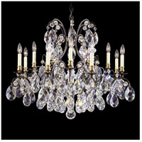 Schonbek 3790-51 Renaissance 13 Light 33 inch Black Chandelier Ceiling Light in Renaissance Heritage