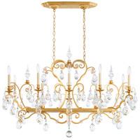 Schonbek 3795N-22S Renaissance 12 Light 46 inch Heirloom Gold Chandelier Ceiling Light in Renaissance Swarovski