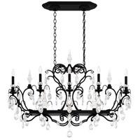 Schonbek 3795N-51S Renaissance 12 Light 46 inch Black Chandelier Ceiling Light in Renaissance Swarovski