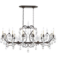 Schonbek 3796N-76H Renaissance 14 Light 56 inch Heirloom Bronze Chandelier Ceiling Light in Renaissance Heritage