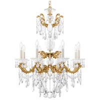 Schonbek Heirloom Gold La Scala Chandeliers