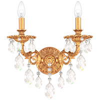 Schonbek French Gold Wall Sconces