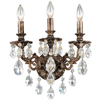 Schonbek Heirloom Bronze Wall Sconces