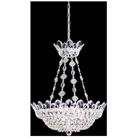 Schonbek 5799S Trilliane 12 Light 24 inch Silver Pendant Ceiling Light in Trilliane Swarovski
