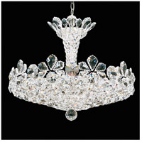 Schonbek 5855A Trilliane 15 Light 25 inch Silver Pendant Ceiling Light in Trilliane Spectra