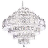 Schonbek 6677S Plaza 31 Light 28 inch Stainless Steel Pendant Ceiling Light in Swarovski