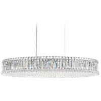 Schonbek 6678A Plaza 16 Light 16 inch Stainless Steel Pendant Ceiling Light in Spectra