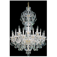 Schonbek 6815-211S Olde World 23 Light 36 inch Aurelia Chandelier Ceiling Light in Olde World Swarovski
