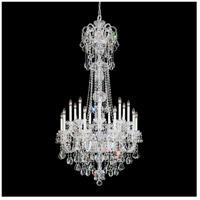 Schonbek 6818-40A Olde World 23 Light 36 inch Silver Chandelier Ceiling Light in Polished Silver, Olde World Spectra