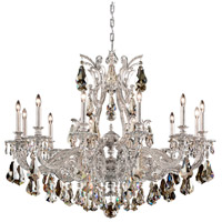 Schonbek 6952-48S Sophia 12 Light 39 inch Antique Silver Chandelier Ceiling Light in Cast Antique Silver Sophia Swarovski