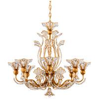 Schonbek 7863-26S Rivendell 8 Light 26 inch French Gold Chandelier Ceiling Light in Rivendell Swarovski