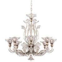 Schonbek 7863-48S Rivendell 8 Light 26 inch Antique Silver Chandelier Ceiling Light in Rivendell Swarovski