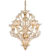 Schonbek 7882-26S Rivendell 8 Light 20 inch French Gold Chandelier Ceiling Light in Rivendell Swarovski