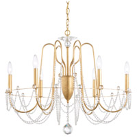 Schonbek AR1006N-22H Esmery 6 Light 28 inch Heirloom Gold Chandelier Ceiling Light in Heritage