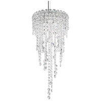 Schonbek CH0812N-401H Chantant 3 Light 11 inch Stainless Steel Pendant Ceiling Light in Heritage, Strand