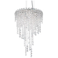 Schonbek CH1211N-401H Chantant 4 Light 14 inch Stainless Steel Pendant Ceiling Light in Heritage, Strand