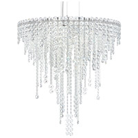Schonbek CH2412N-401H Chantant 6 Light 24 inch Stainless Steel Pendant Ceiling Light in Heritage, Strand